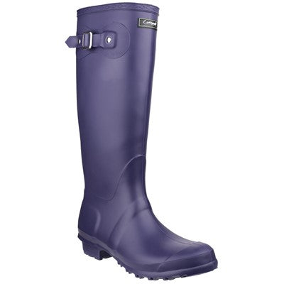 Cotswold Sandringham Ladies Wellington Boots - Purple