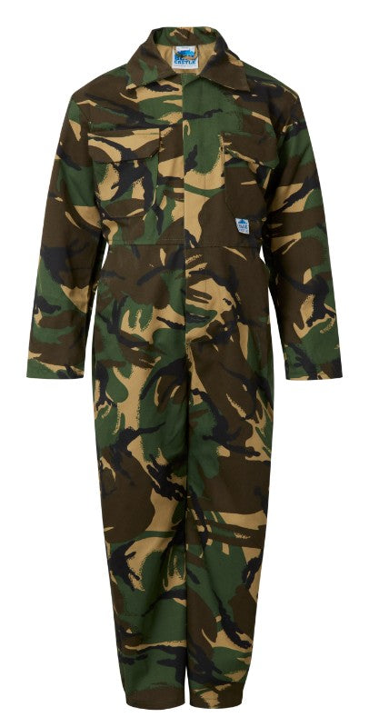 Fort Junior Tearaway Coverall - Camouflage