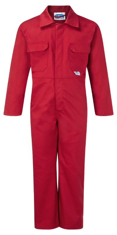 Fort Junior Tearaway Coverall - Red
