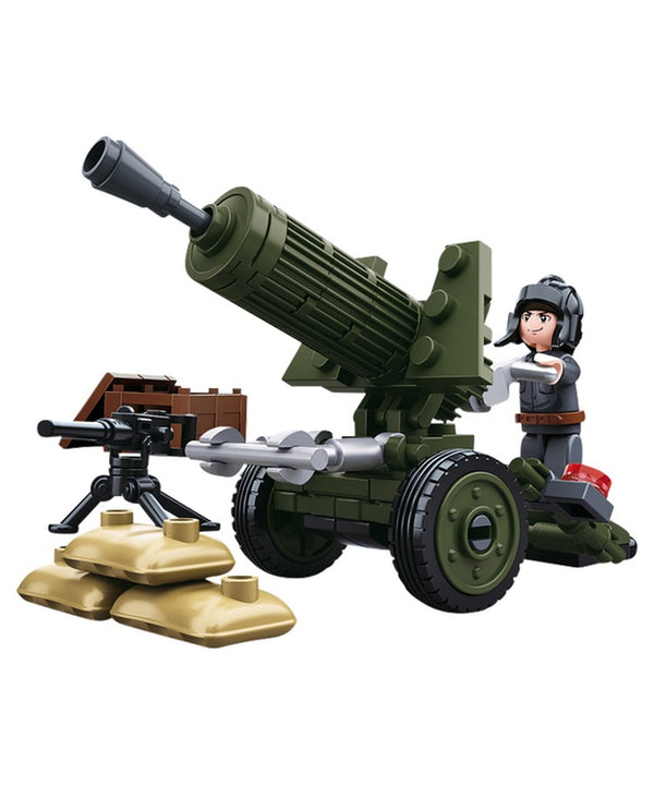 Sluban - B0678A (WWII Anti Aircraft Gun)