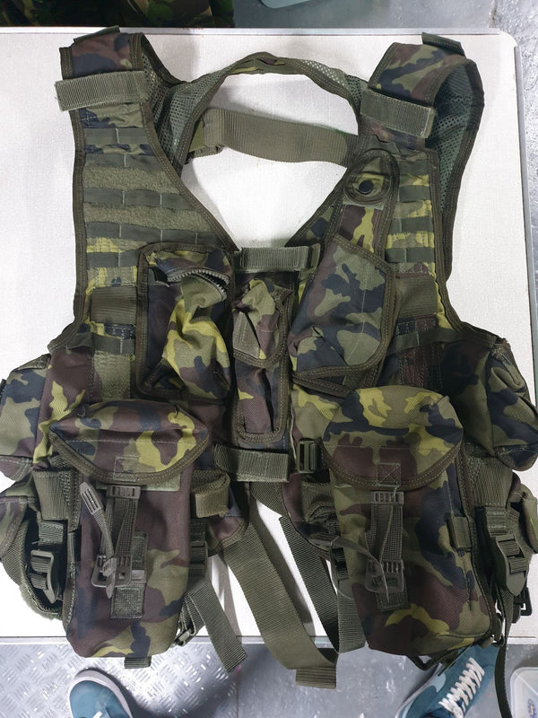 Czech Army M95 Camouflage Assault Vest