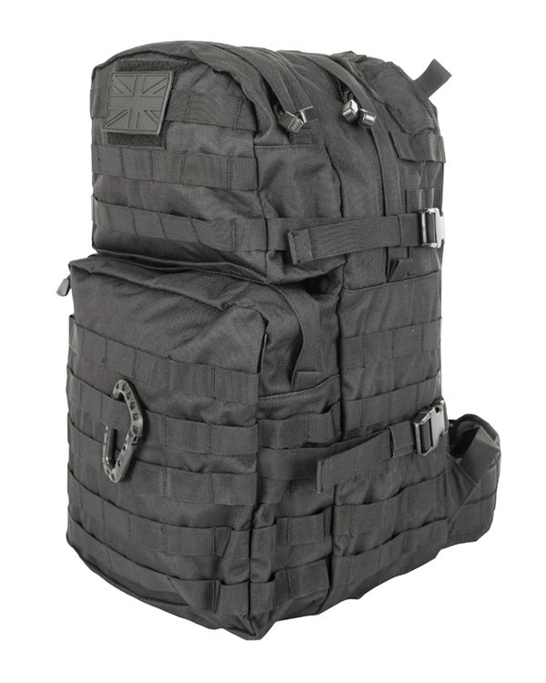 Kombat Medium Molle Assault Pack 40 Litre - Black