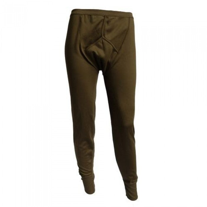 British Army Olive Green Long Johns