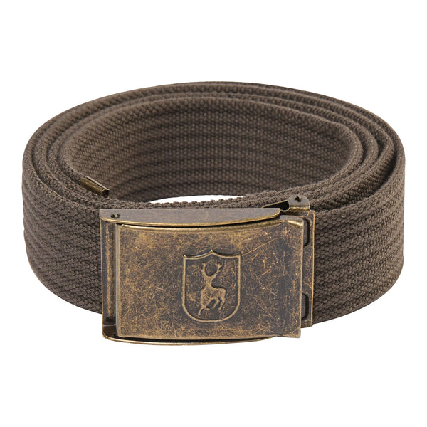 Deerhunter Canvas Belt - Brown