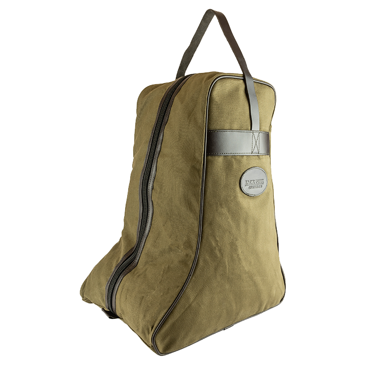Jack Pyke Canvas Boot Bag - Green