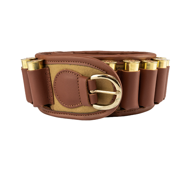 Jack Pyke Canvas Cartridge Belt - Brown