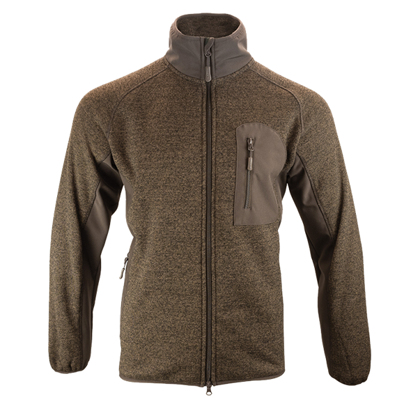 Jack Pyke Weardale Knitted Jacket - Brown