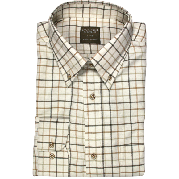 Jack Pyke Countryman Shirt - Brown Check