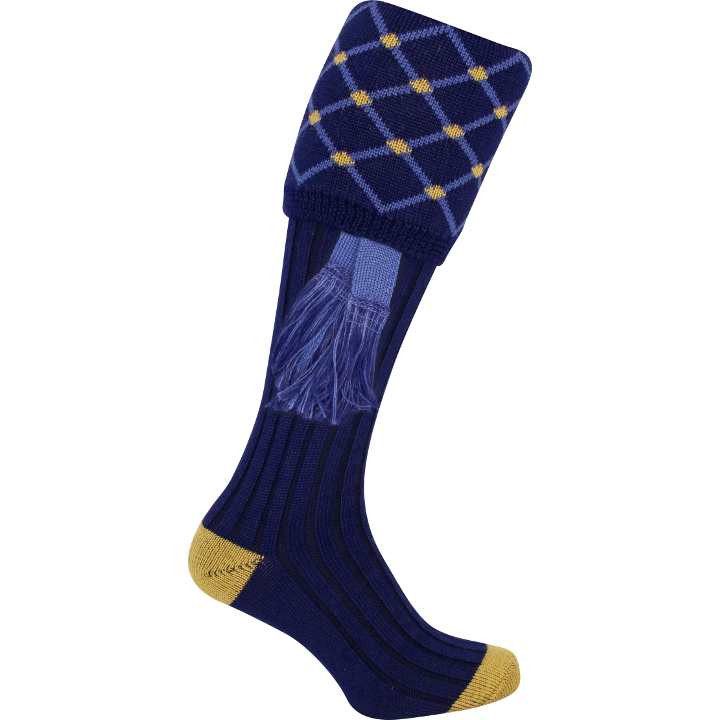 Jack Pyke Diamond Shooting Socks - Navy