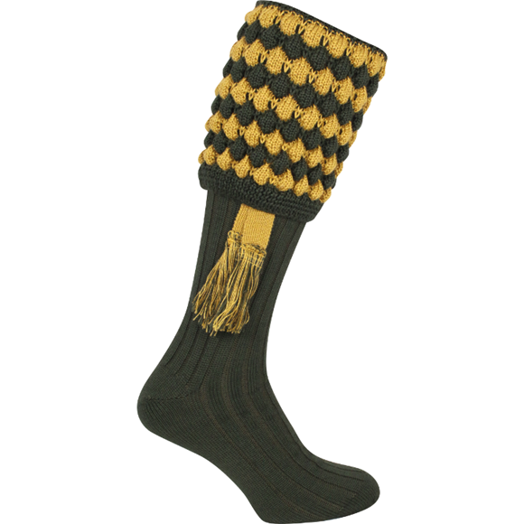 Jack Pyke Pebble Sock - Green