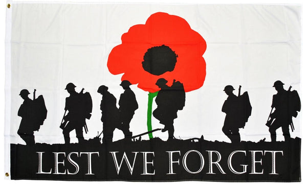 Lest We Forget (Army) Flag