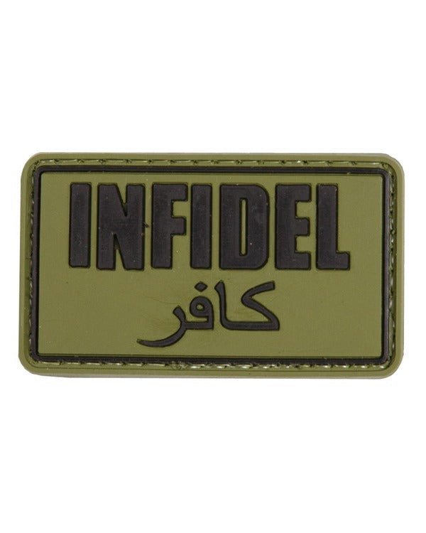 Infidel Patch - Olive Green