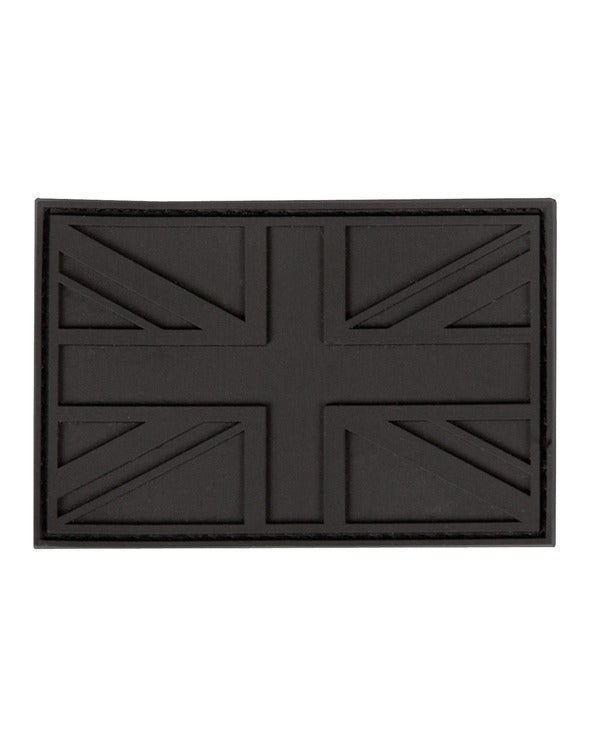 UK PVC Stealth Patch - Black