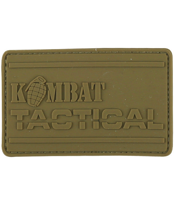 Kombat PVC Tactical Patch - Coyote