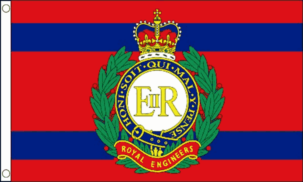 Royal Engineers Corps Flag