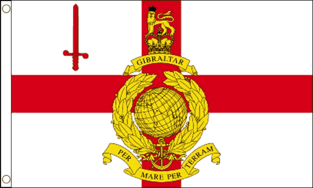 Royal Marines Reserve London Flag