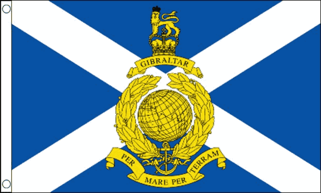 Royal Marines Reserve Scotland Flag