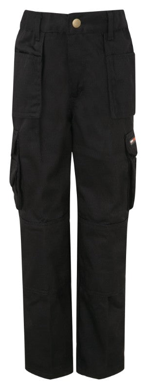 Tuff Stuf Junior Pro Work Trousers - Black