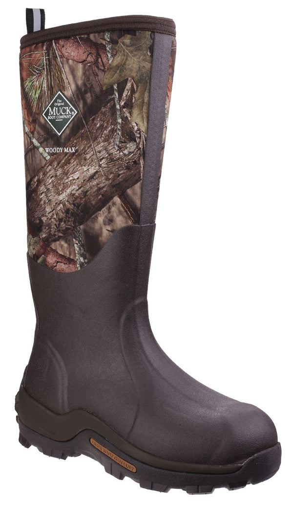 Muck Woody Max Wellington Boot - Realtree Camo