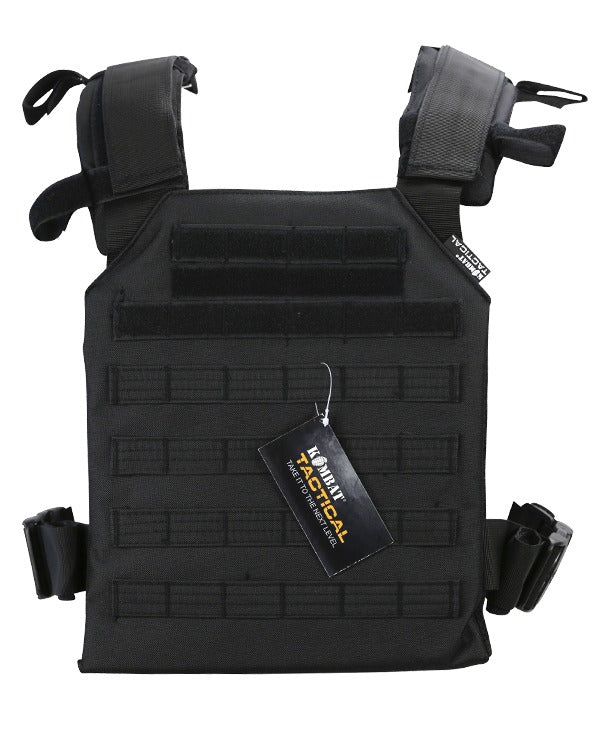 Kombat Spartan Plate Carrier - Black