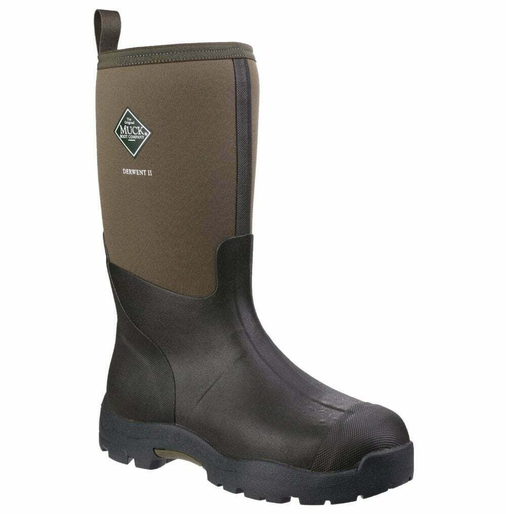 Muck Derwent II Wellington Boot - Moss Green