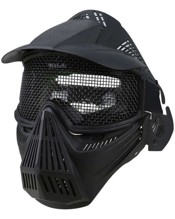 Kombat Full Face Mesh Mask - Black