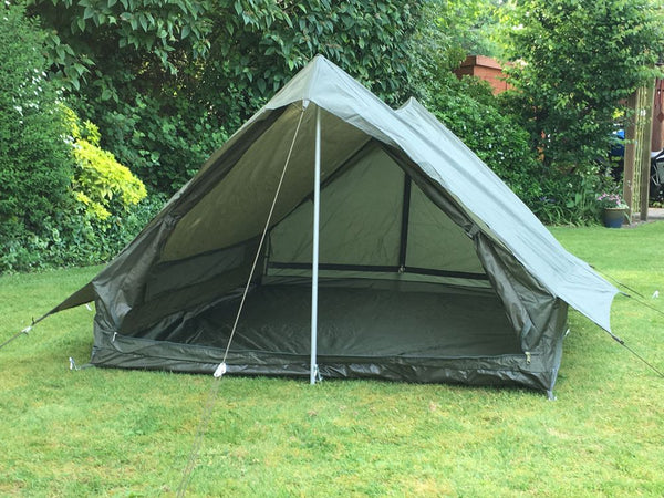 French Army Olive Green 2 Man Tent