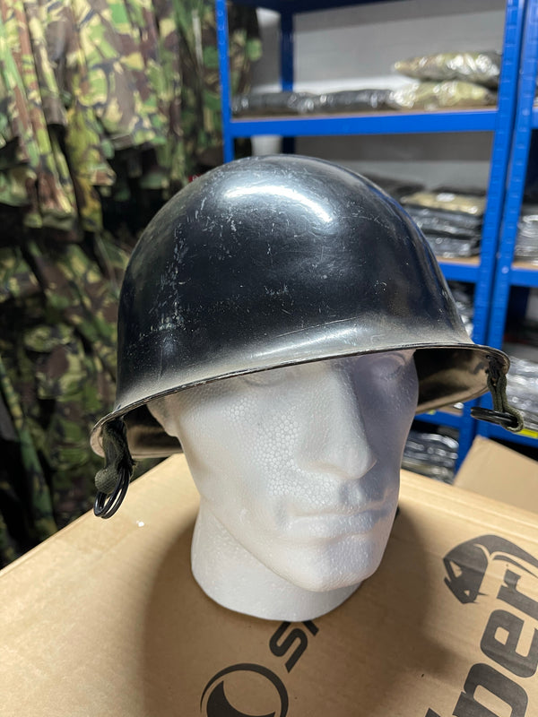 French Military Police Steel Riot Helmet