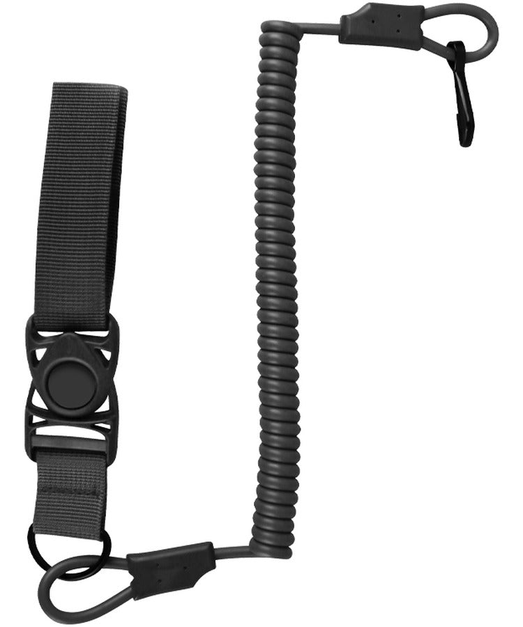 Kombat Tactical Pistol Lanyard - Black