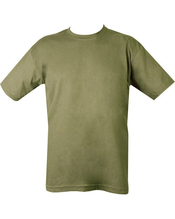 Kombat Military Plain T-Shirt - Green