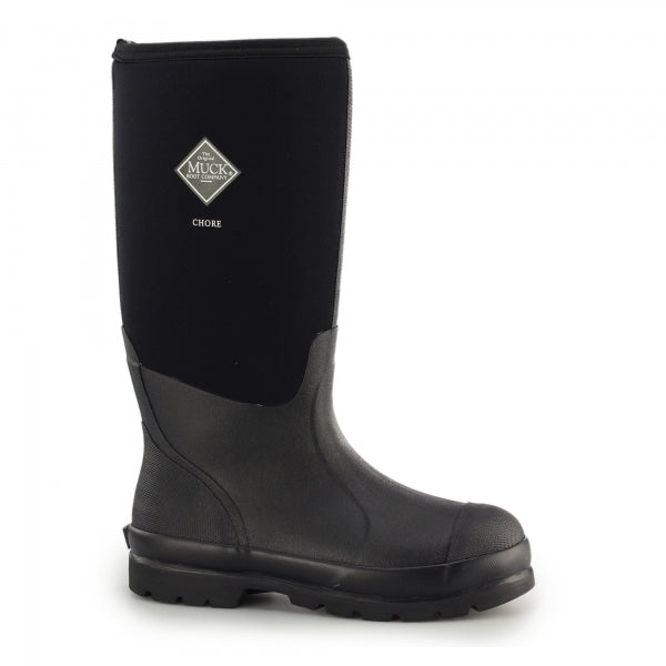 Muck Chore Hi Wellington Boot - Black