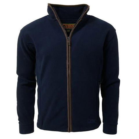 Game Stanton Fleece Jacket - Navy