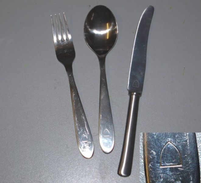 Norwegian Army Knife Fork And Spoon Set Pools Surplus Stores