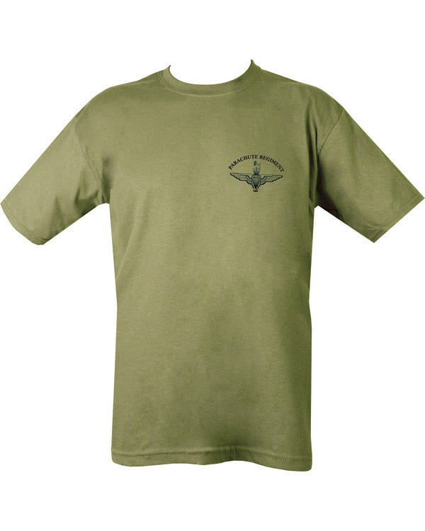 Kombat Parachute Regiment T-Shirt - Olive Green