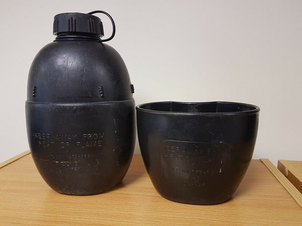 British 58 Pattern Water Bottle & Cup