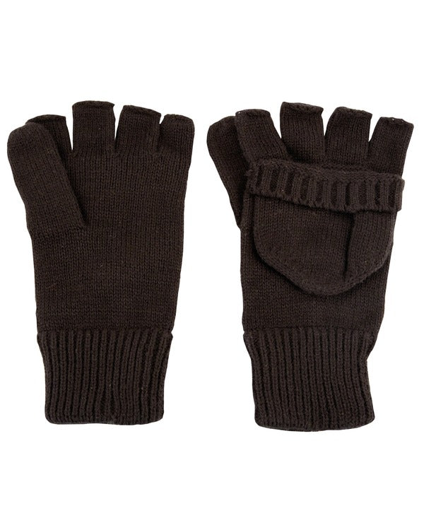 Kombat Shooters Mitts - Black