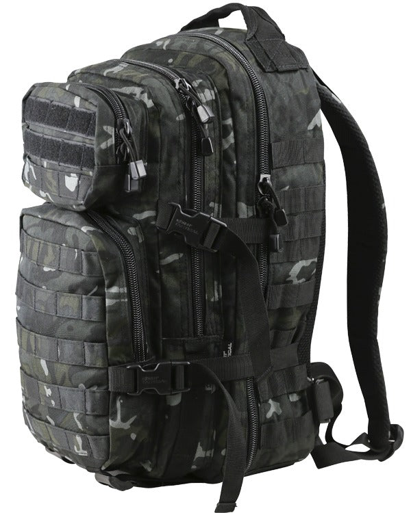 Kombat Small Molle Assault Pack 28 Litre - BTP Black