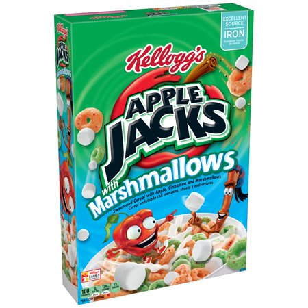 Apple Jacks with Marshmallows
