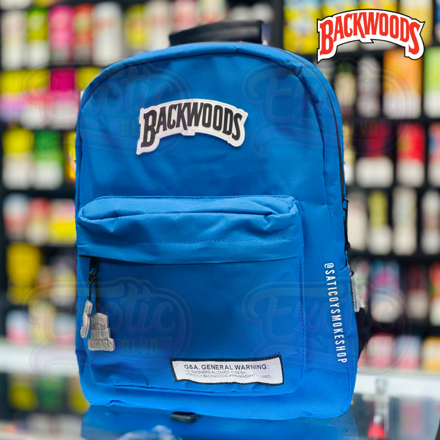 Smellproof Backwoods Backpack Blue