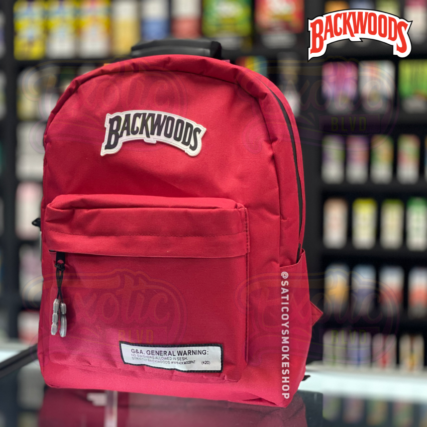 Smellproof Backwoods Backpack Red