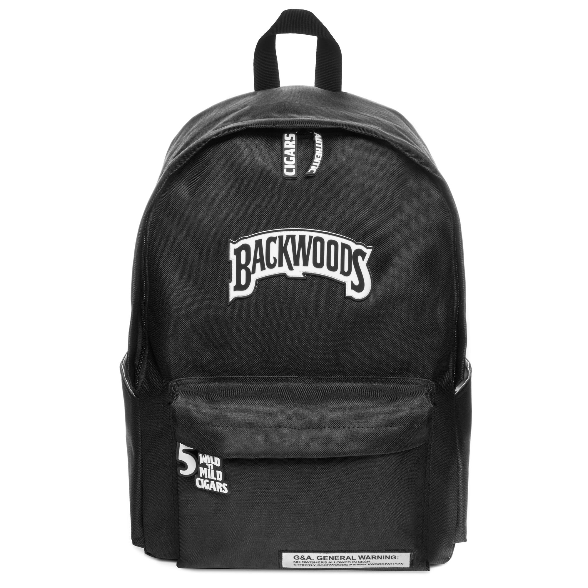 Black Backwoods Backpack