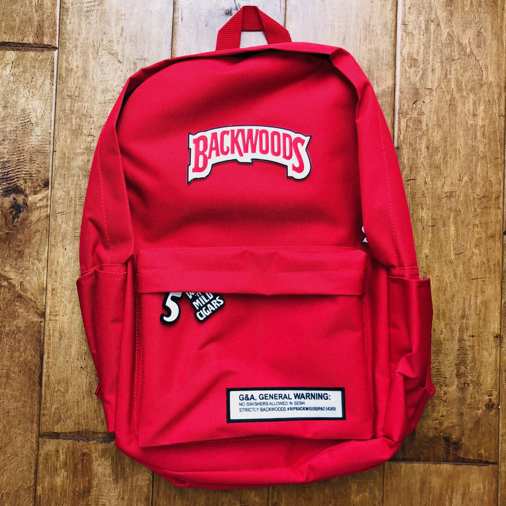 Red Backwoods Backpack