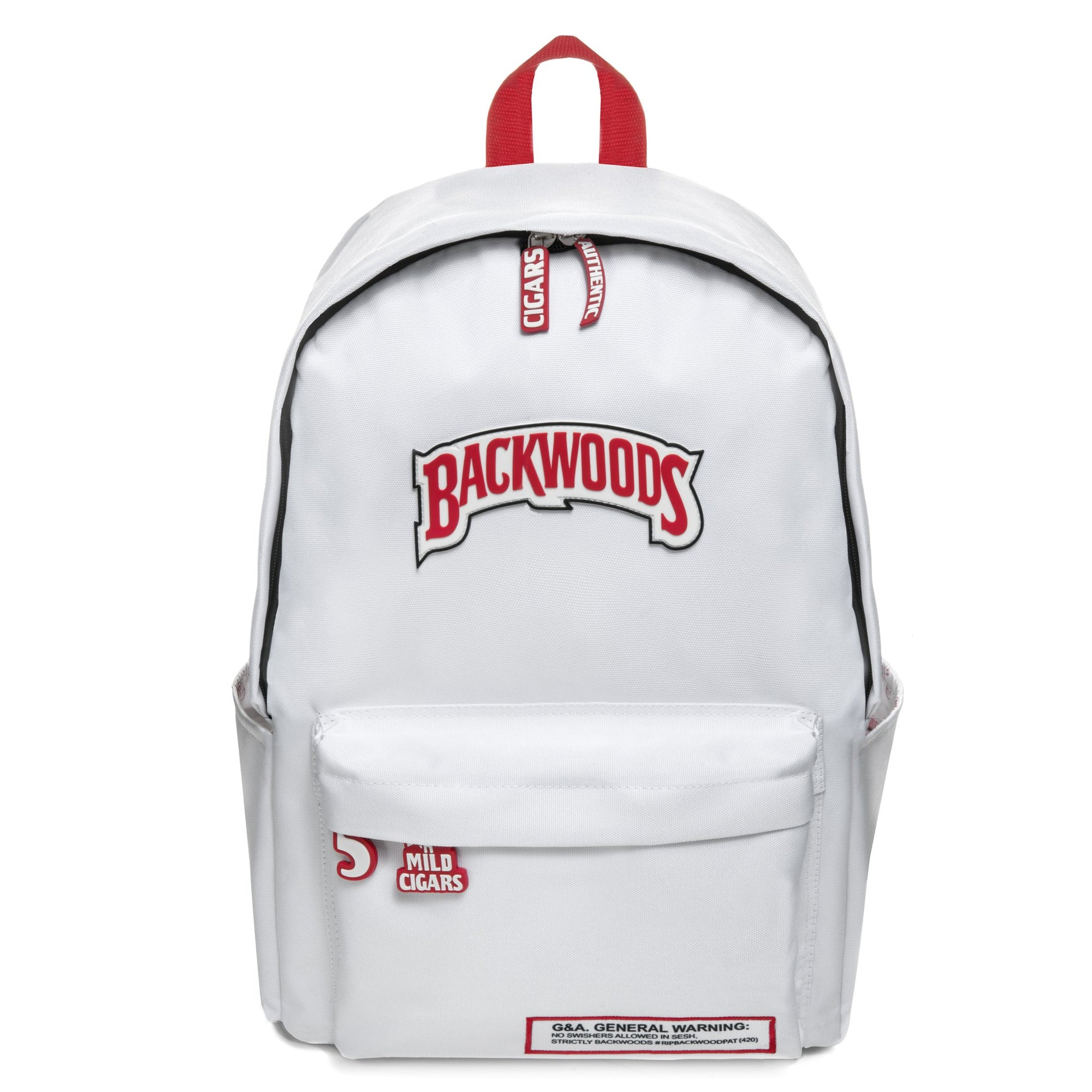 White Backwoods Backpack