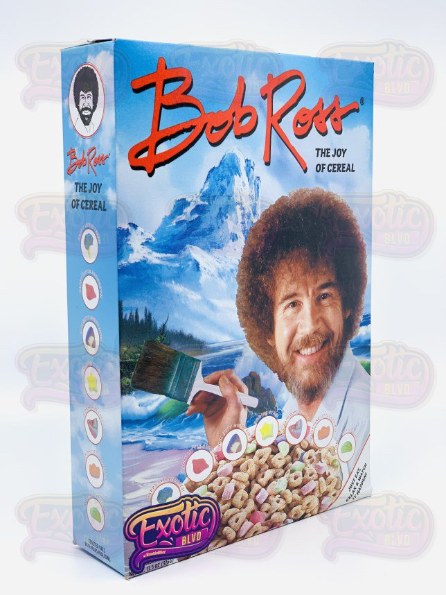 Bob Ross Cereal