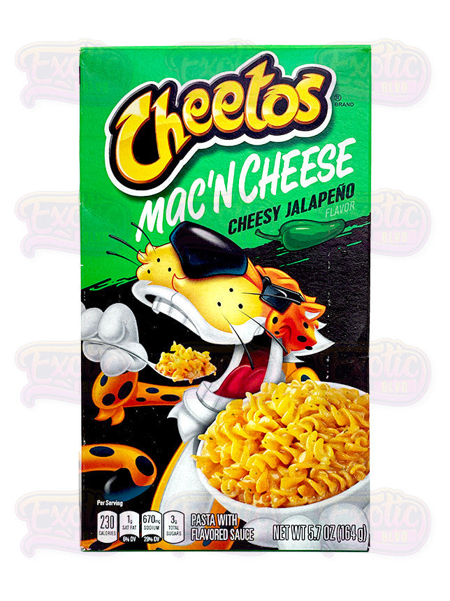 Cheetos Cheesy Jalapeno Mac & Cheese