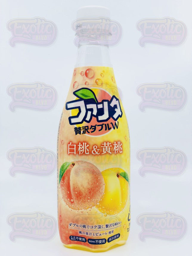 Fanta Double Peach (White Peach and Yellow Peach)