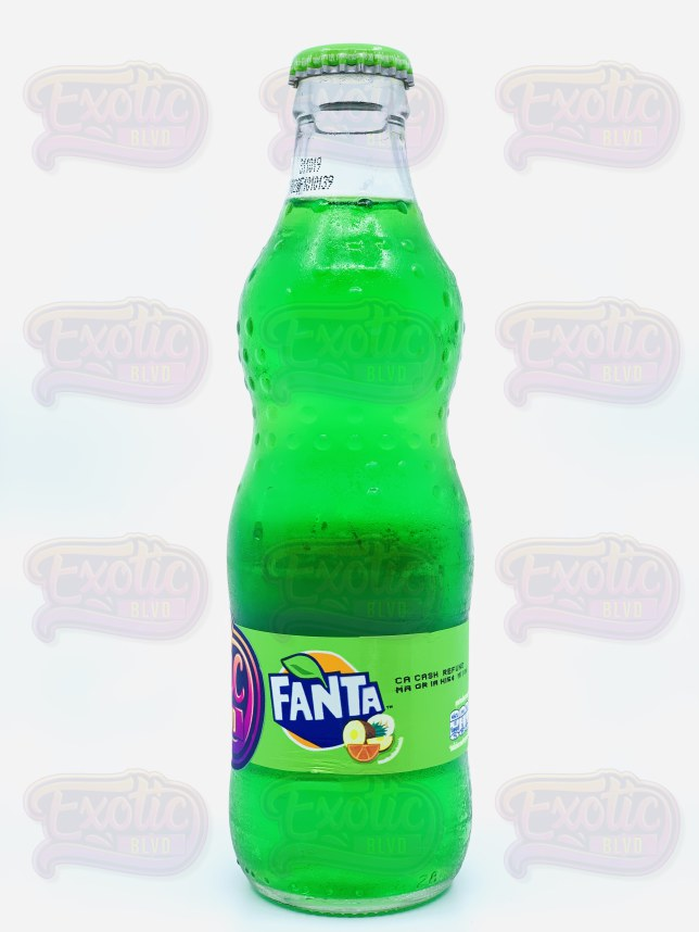 Fanta Green Cream Soda (Thailand)