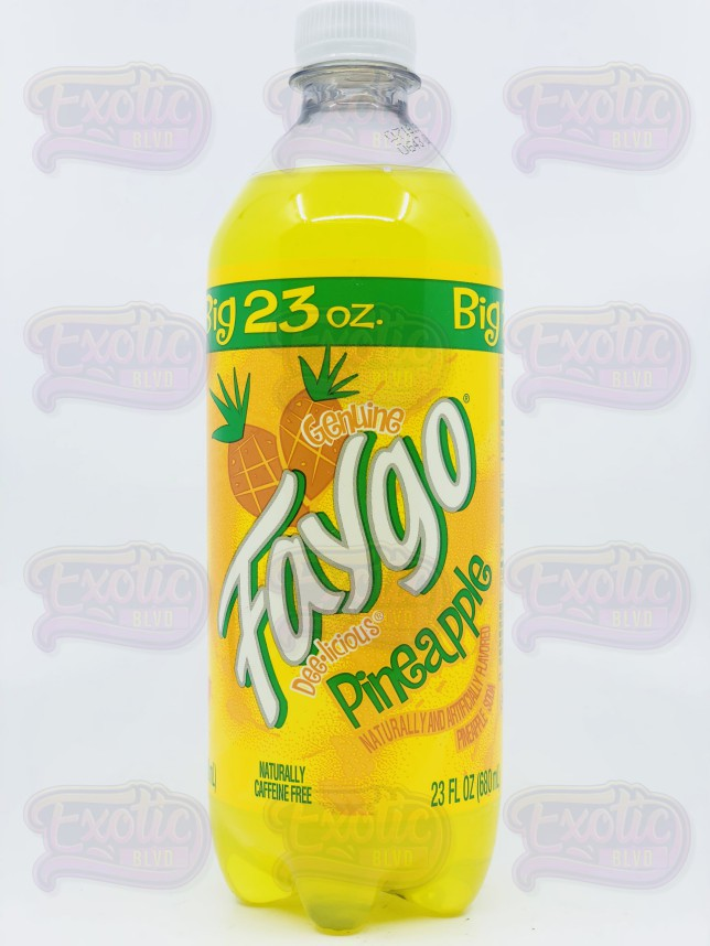 Faygo Pineapple