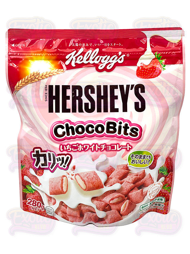 Hershey's Strawberry Chocobites Cereal