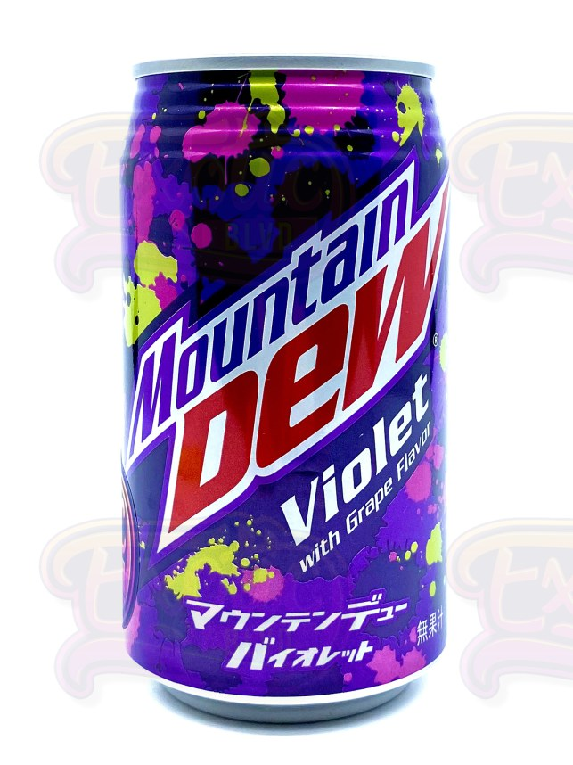 Mountain Dew Violet